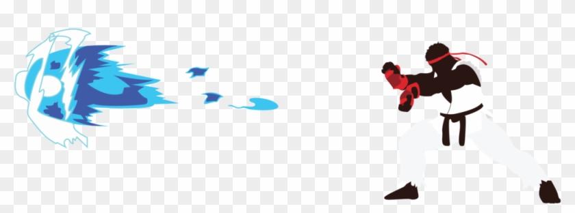Ryu Hadouken Png Street Fighter Hadouken Png Transparent Png