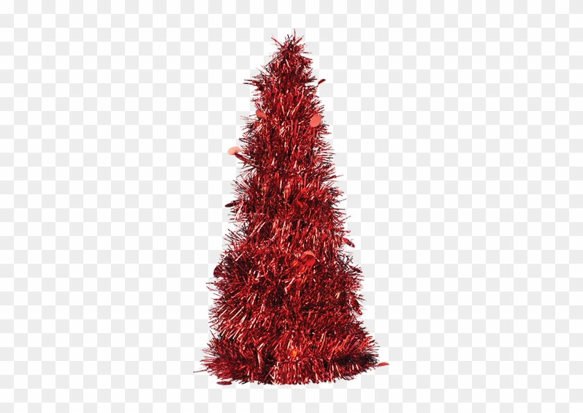 Christmas Tinsel Transparent Background.Christmas Tinsel Tree 31cm Christmas Tree Hd Png Download