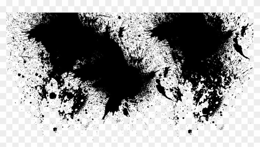 black splash png black splatter png - black paint splash transparent, png
