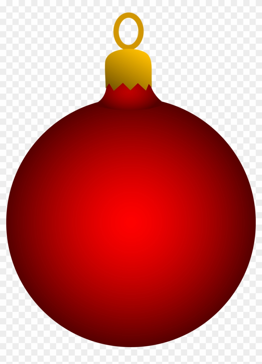 Christmas Ball Png Red Ornament Clip Art Transparent Png