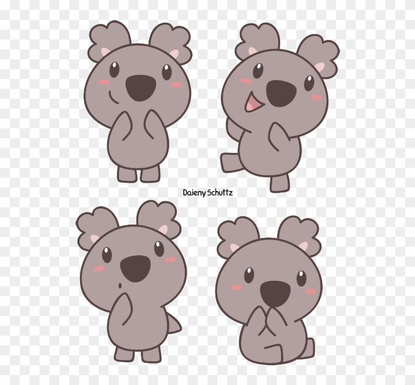 600 X 755 4 Koala Chibi Hd Png Download 600x755142860 Pngfind