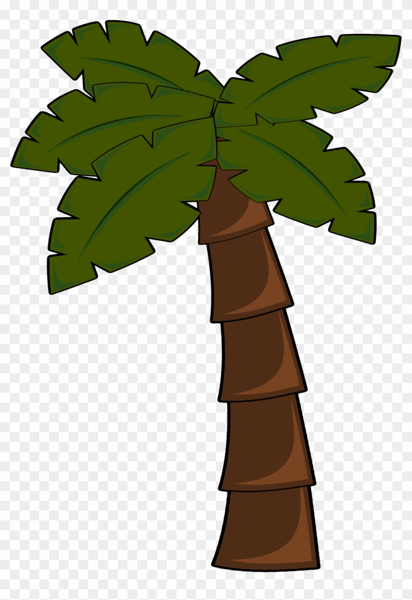 Images For Palm Trees Clip Art Jungle Tree Cartoon Png