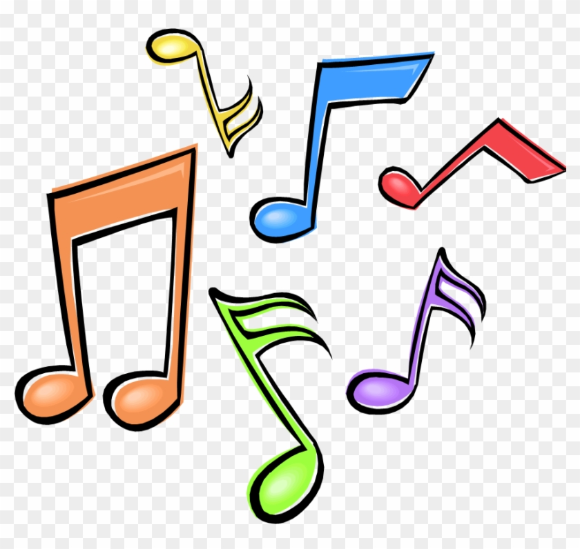 Music Clipart Png Colorful Music Notes Clipart Transparent Png 873x786 143943 Pngfind