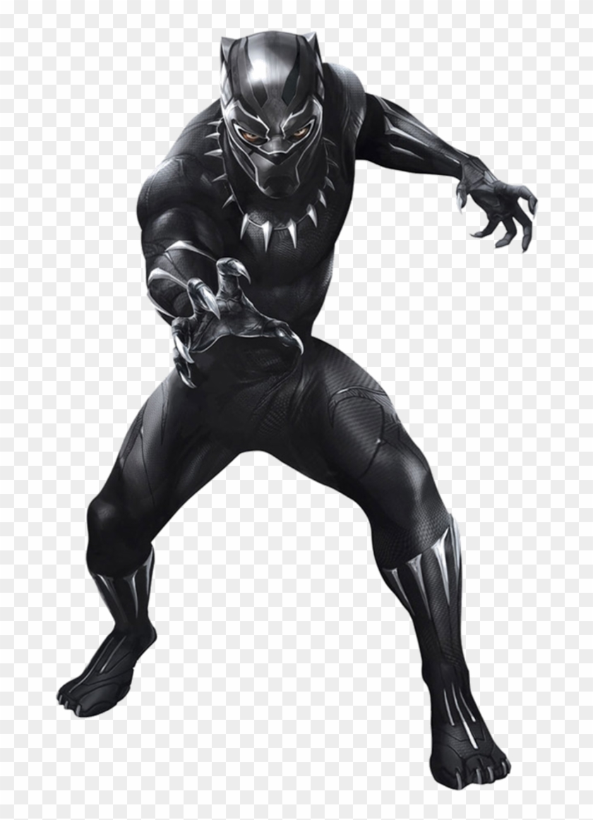 Black Panther Png Black Panther Cut Out Transparent Png 717x1115 144306 Pngfind