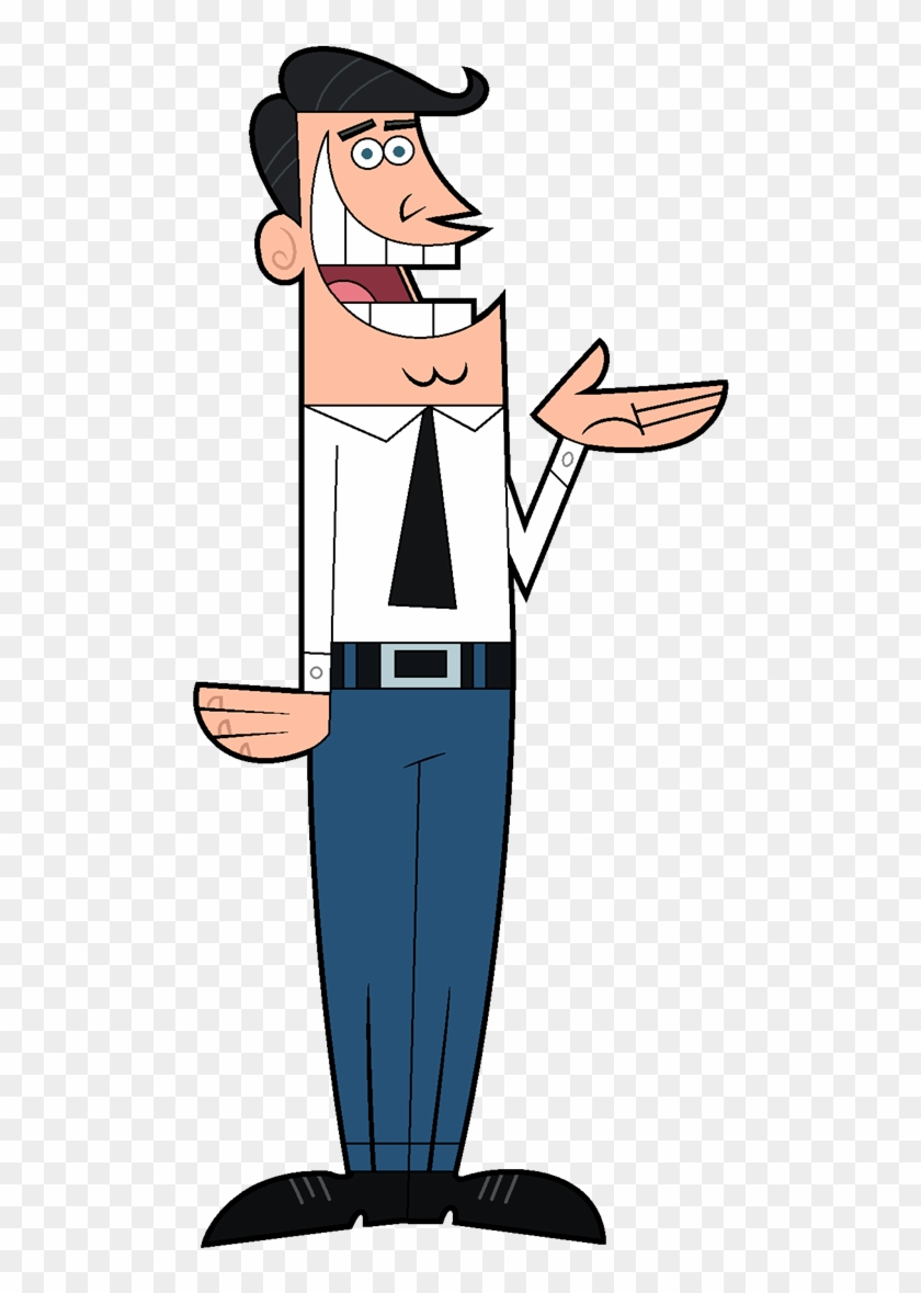 Image Dadturner Png Fairly Odd Parents Wiki Timmy - Papa De Timmy
