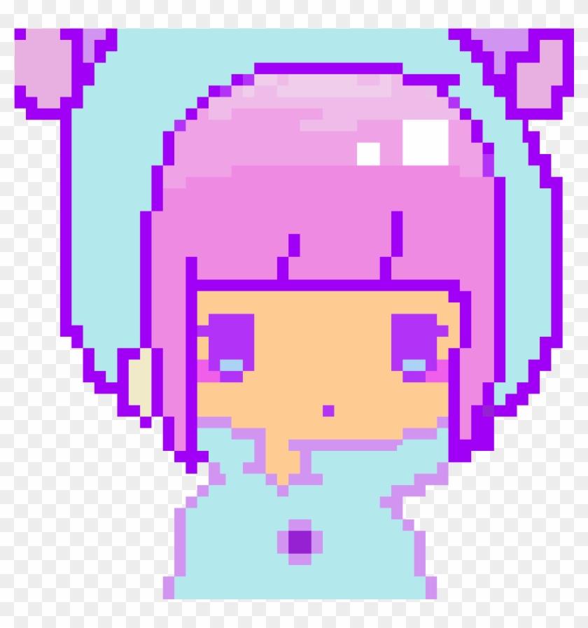 Kawaii Pixel Girl Kawaii Arts Girl Gif Hd Png Download 1200x1200 1400760 Pngfind