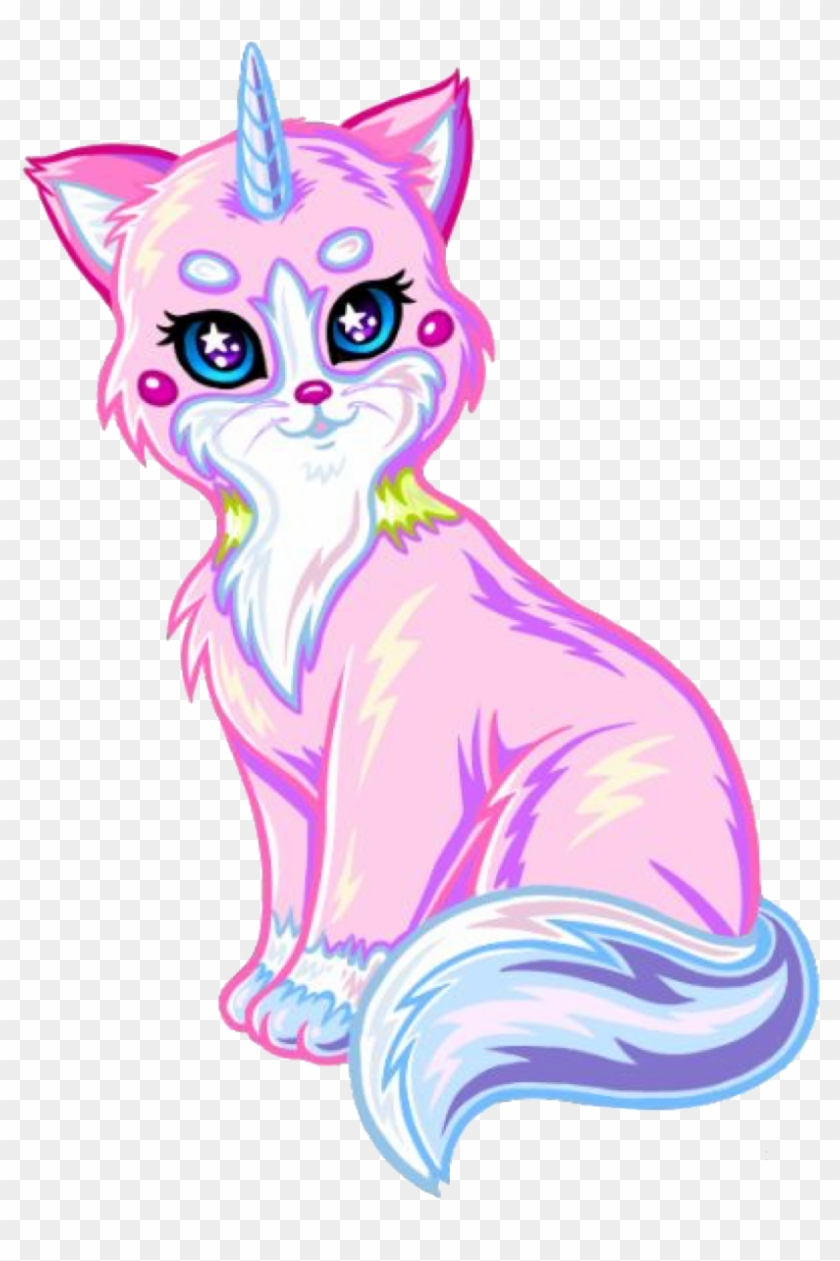 Unicat Sticker Dibujos De Gatos Unicornios Hd Png Download