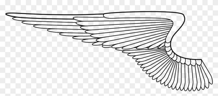 Angel Wings Free Vector Graphic On Pixabay - Wings