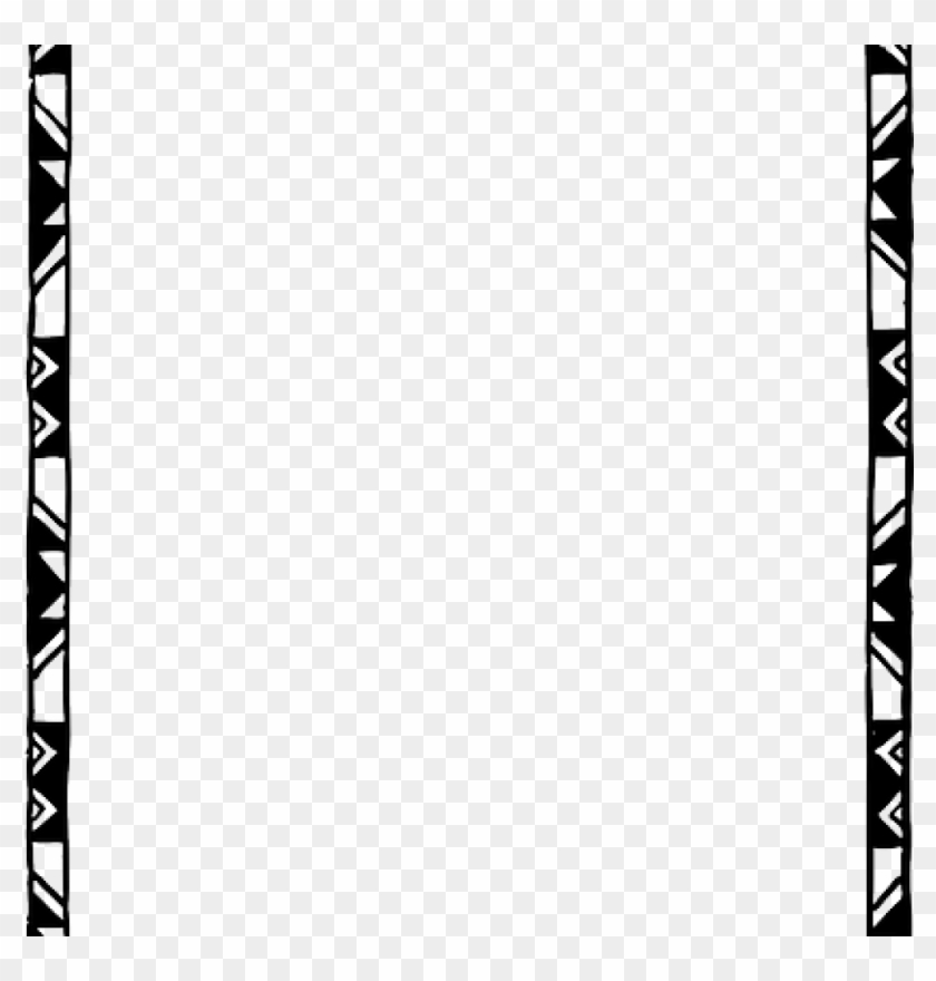 Page Border Black And White Border Black And White - Black