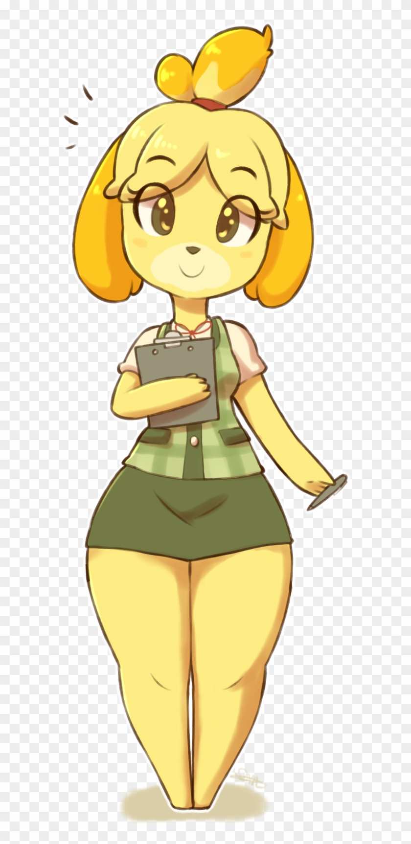 Isabelle By Spikedmauler-db5yilw - Tom Nook Animal ...