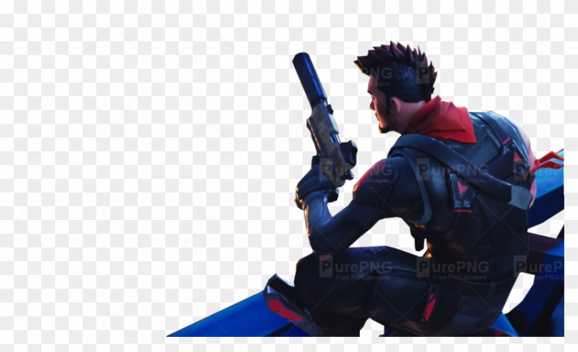 Sitting With A Gun Fortnite Thumbnail Template - Free To Use