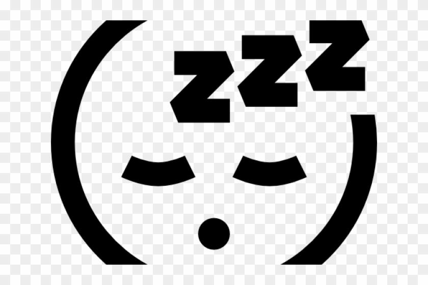 Sleeping Clipart Sleep Emoji Black And White Tired Emoji Hd Png Download 640x480 1424902 Pngfind