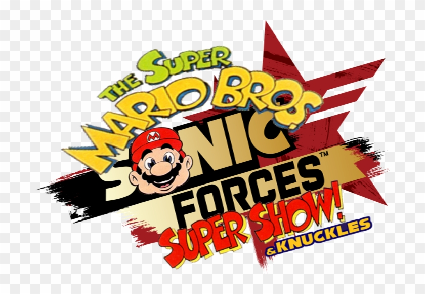 The Super Mario Bros Sonic Forces Super Show Knuckles Poster