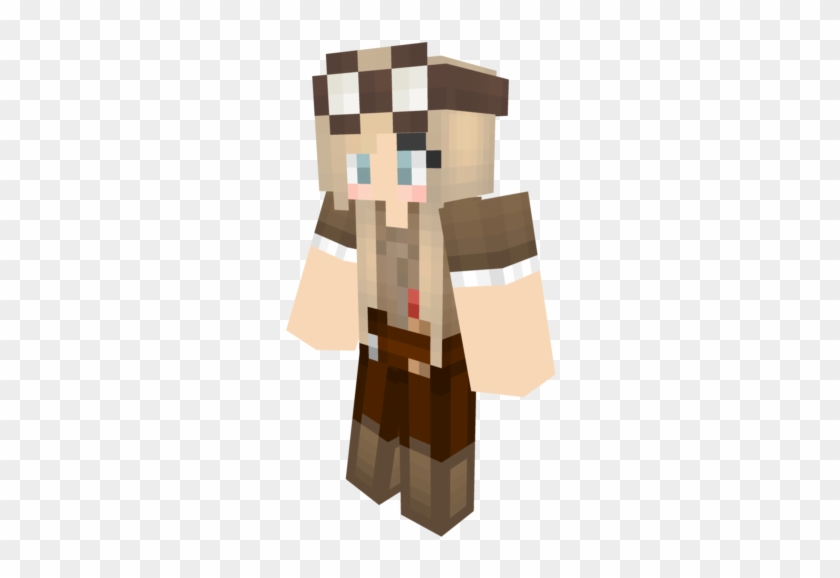 640 X 640 11 - Minecraft Girl Skin Boots, HD Png Download