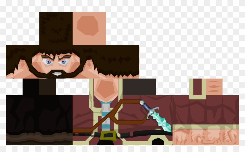 Minecraft Skins 64x32 - Minecraft Story Mode, HD Png