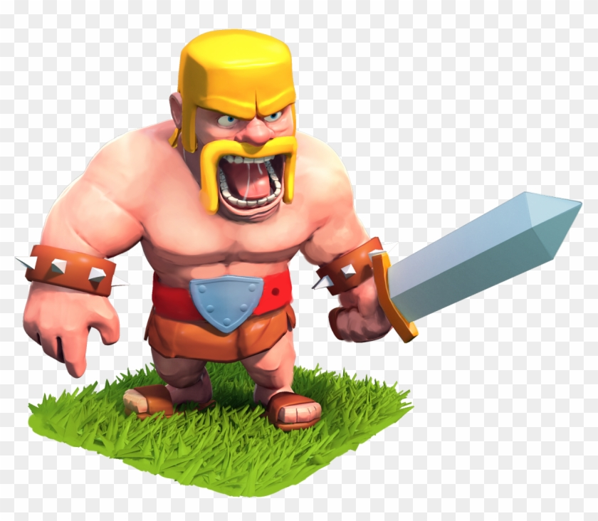 Clash Of Clans Barbarian Photos - Elite Barb Clash Royale