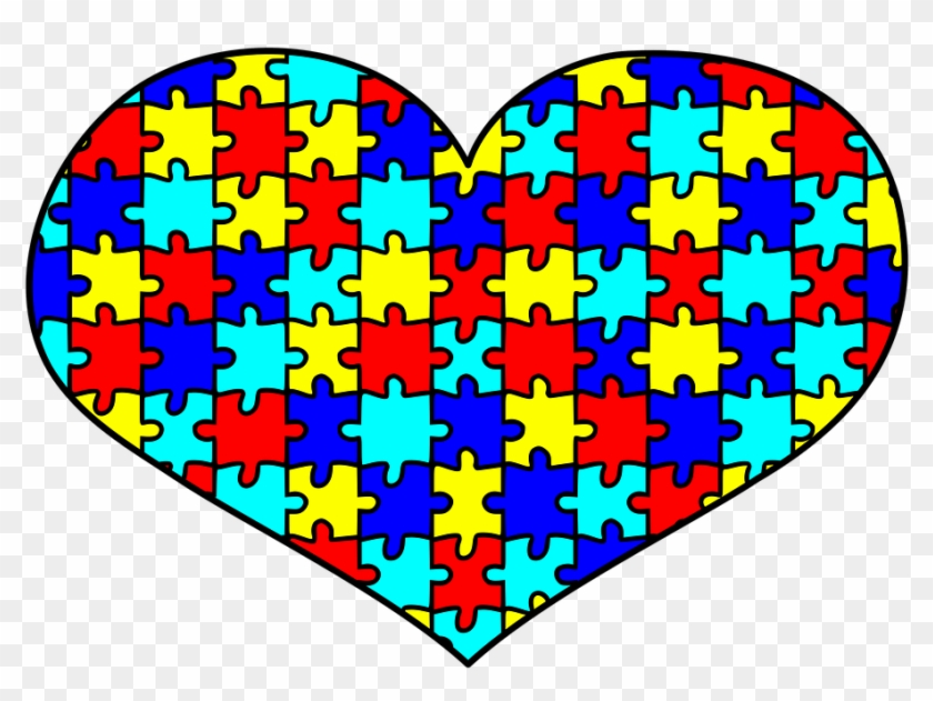 Autism Awareness Puzzle Heart Love Autistic Autism Awareness Heart Hd Png Download 960x720 1439699 Pngfind
