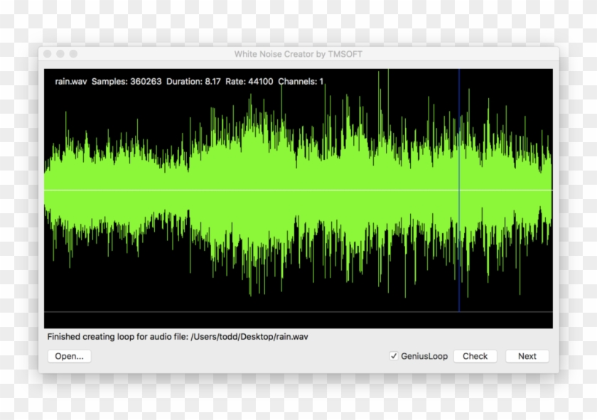 White Noise Creator App - White Noise Audio File, HD Png Download