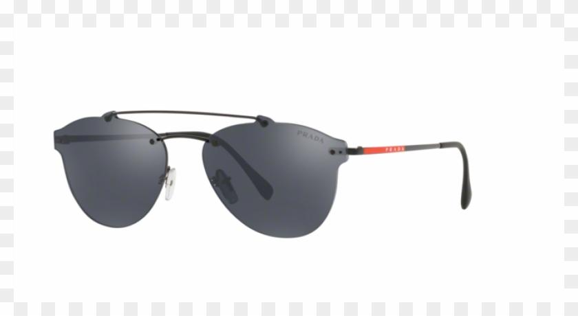 b828aab067 Prada Linea Rossa Men Pilot Sunglass Ps 55ts 1ab5l0 - Plastic