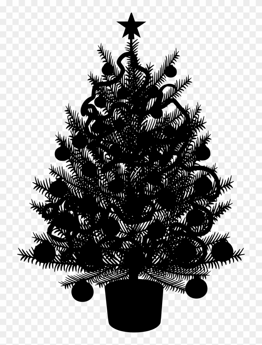 Download Png Christmas Tree Vector Transparent Png 730x1024