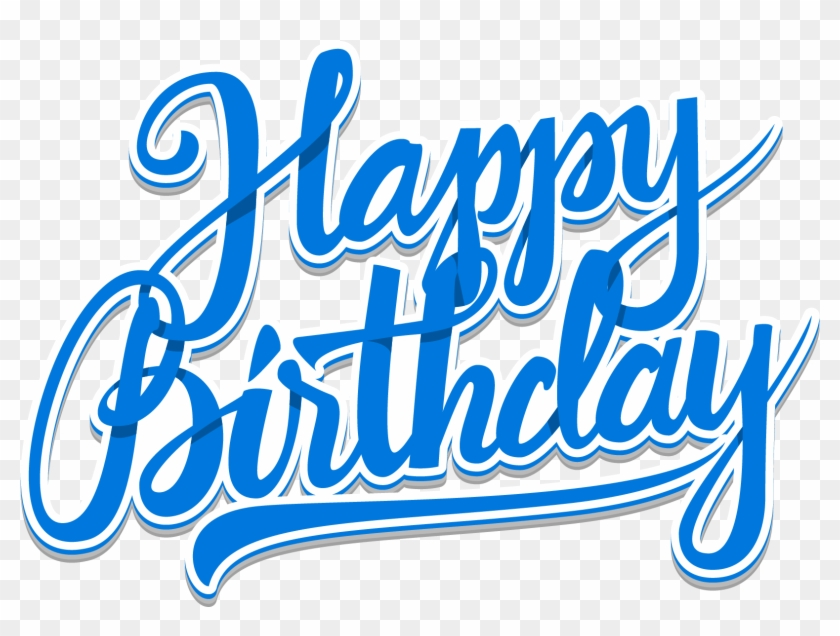 Font Png For Free Download On - Clipart Happy Birthday Word
