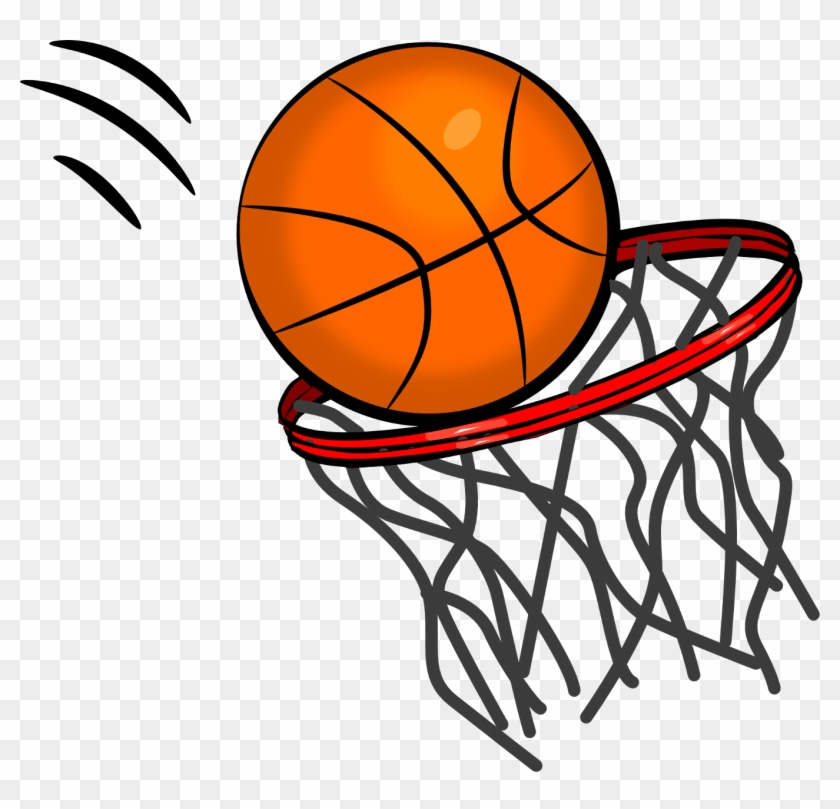 Basketball swoosh. Clipart no background hd