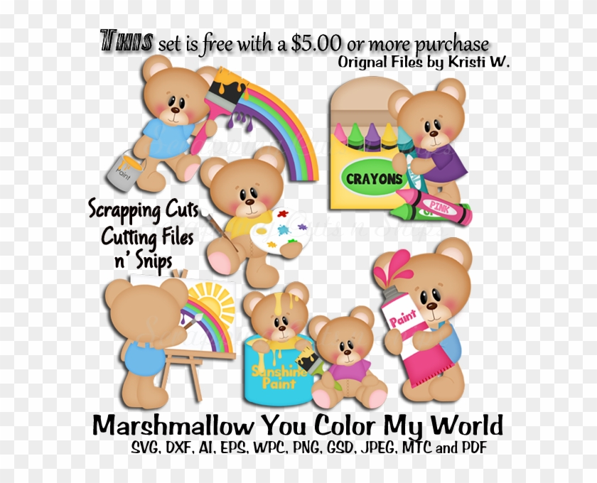 Marshmallow You Color My World Cutting Files Don T Believe You Hd Png Download 600x600 155276 Pngfind