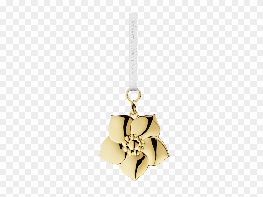 Christmas Chain Png.Georg Jensen Johanne Christmas Rose Gold Chain Hd Png