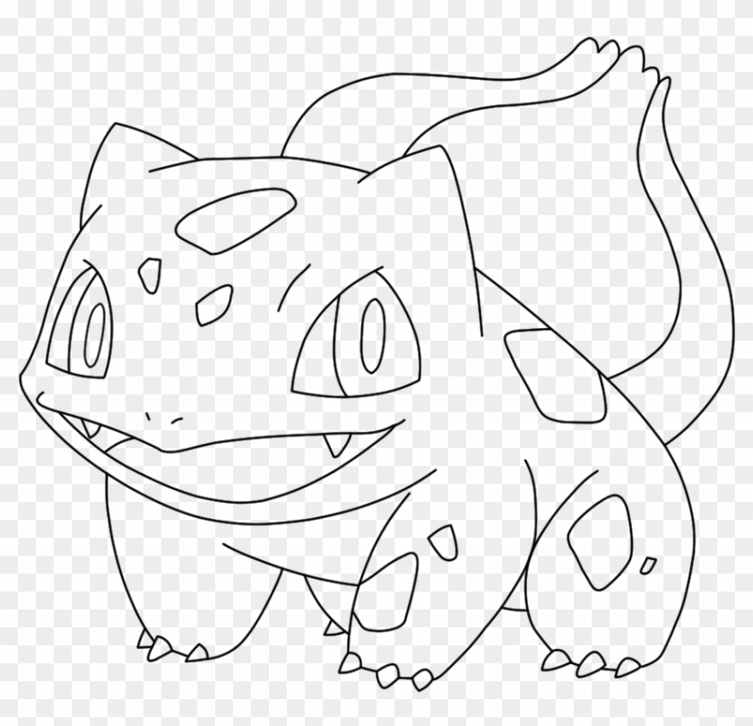 Bulbasaur Coloring Pages Hd Png Download 1000x1000 158358 Pngfind