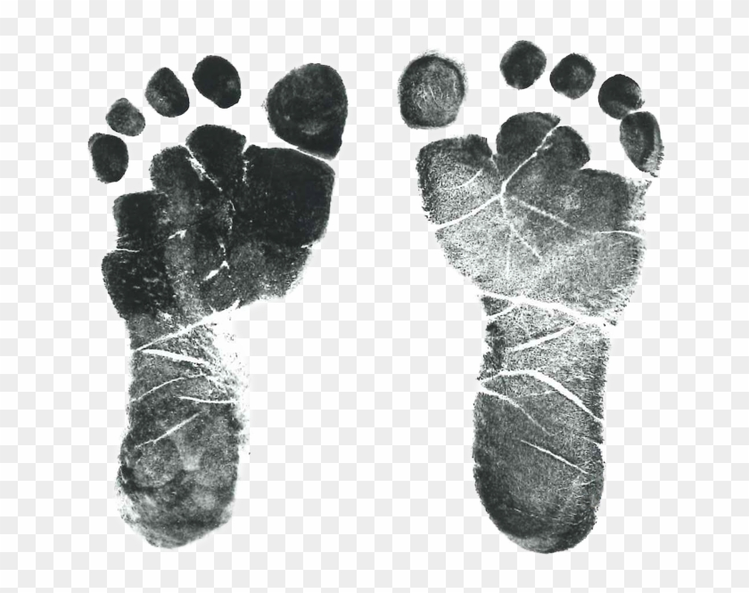 Baby Feet Png For Free Download Baby Footprint Transparent Background Png Download 668x595 1503875 Pngfind