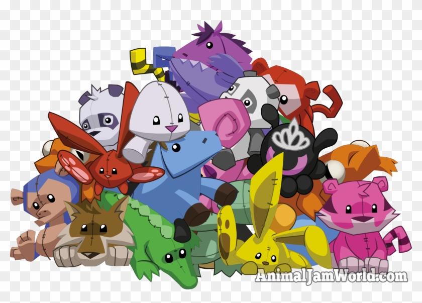 Animal Jam Plushies Codes Trading Png Animal Jam Epic - Animal Jam