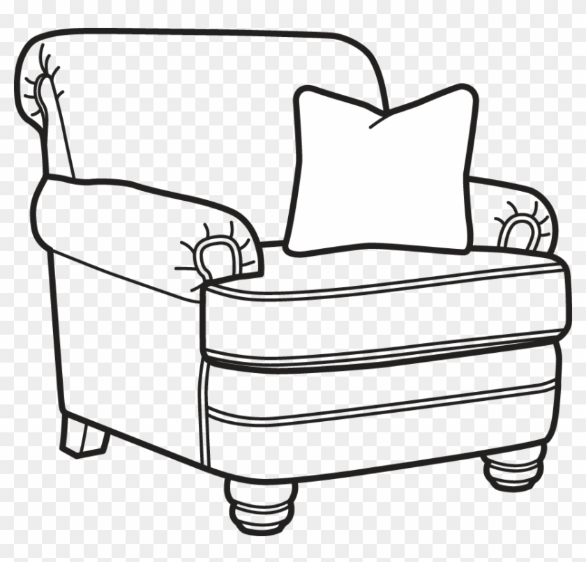 Bay Armchair Coloring Pages Hd Png Download 857x782 1515754 Pngfind