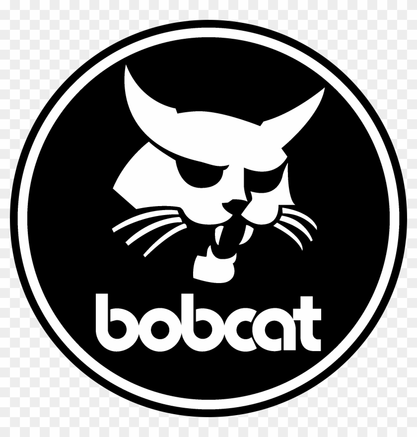 Bobcat Black And White
