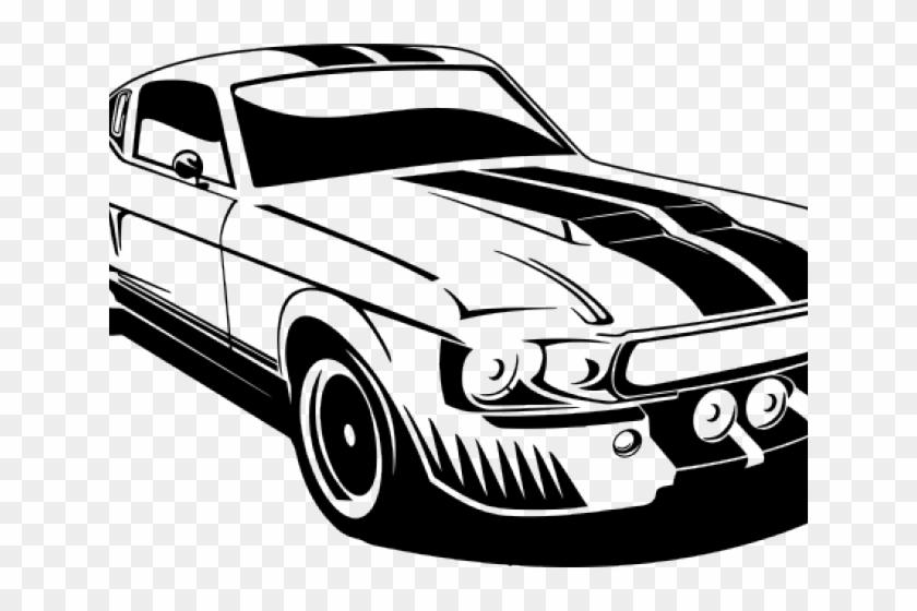 Classic Car Clipart Muscle Car - Ford Mustang Clip Art, HD ... (840 x 560 Pixel)