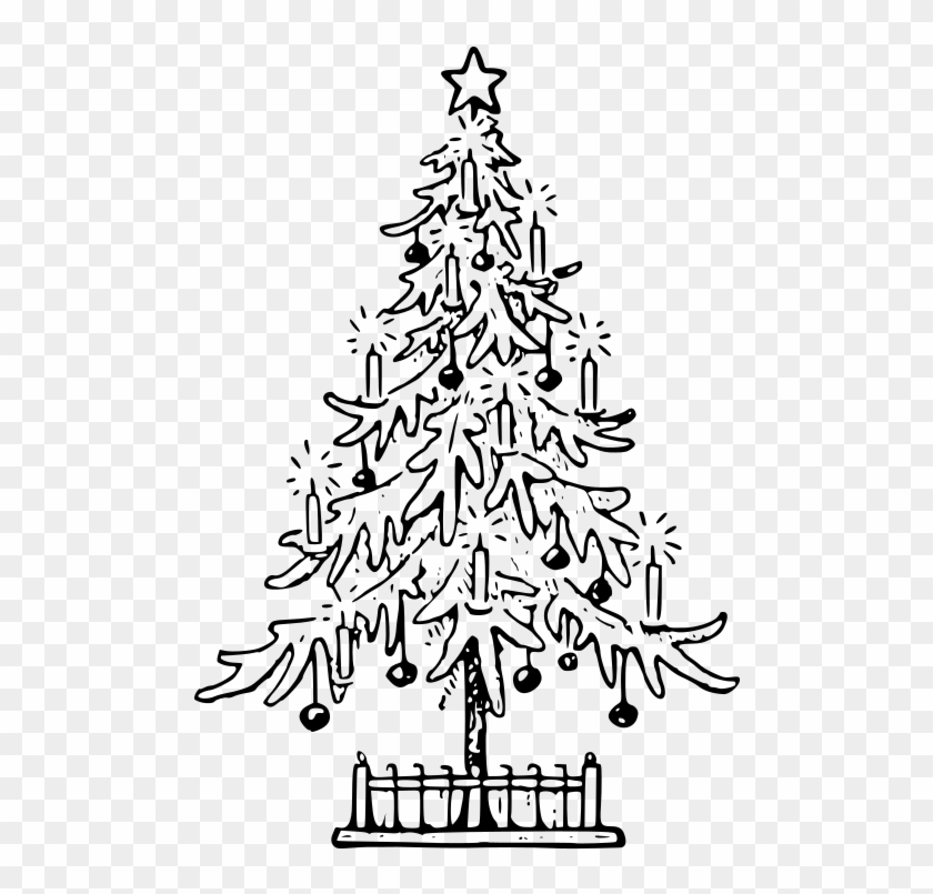 Christmas Tree Images Outline Png Download X Mas Tree Outline