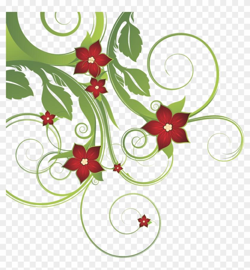Floral Vector Png, Floral Vector, Floral Png, Flower - Free