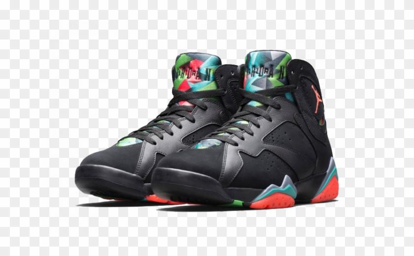 49d80172e515 Nike Air Jordan 7 Retro - Jordan 7 Barcelona Nights, HD Png Download ...