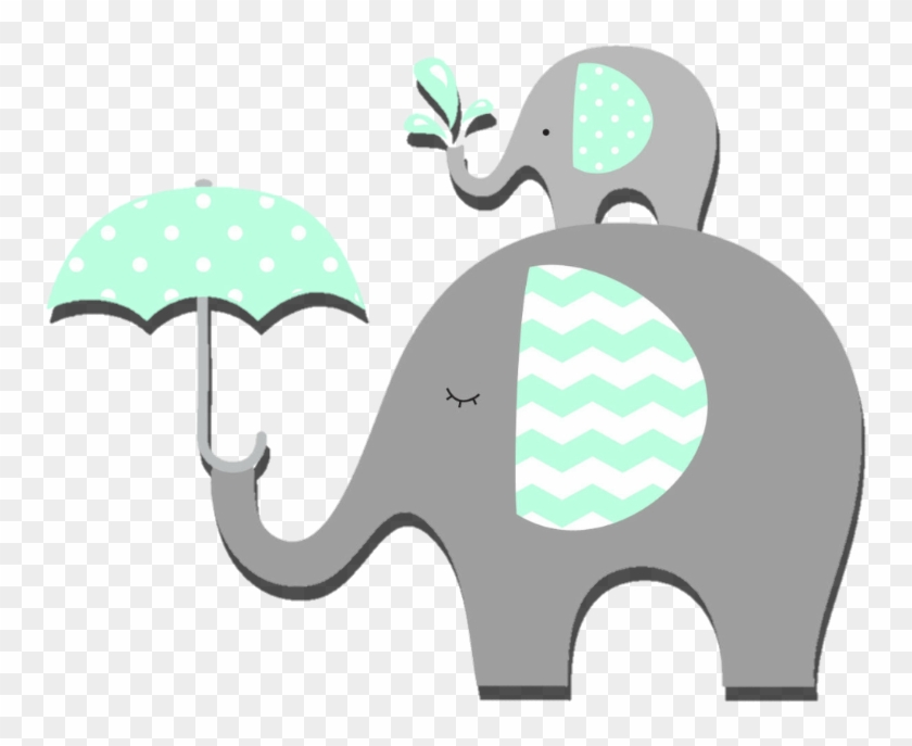 Baby Shower Elephant Clipart Png Download Portable Network