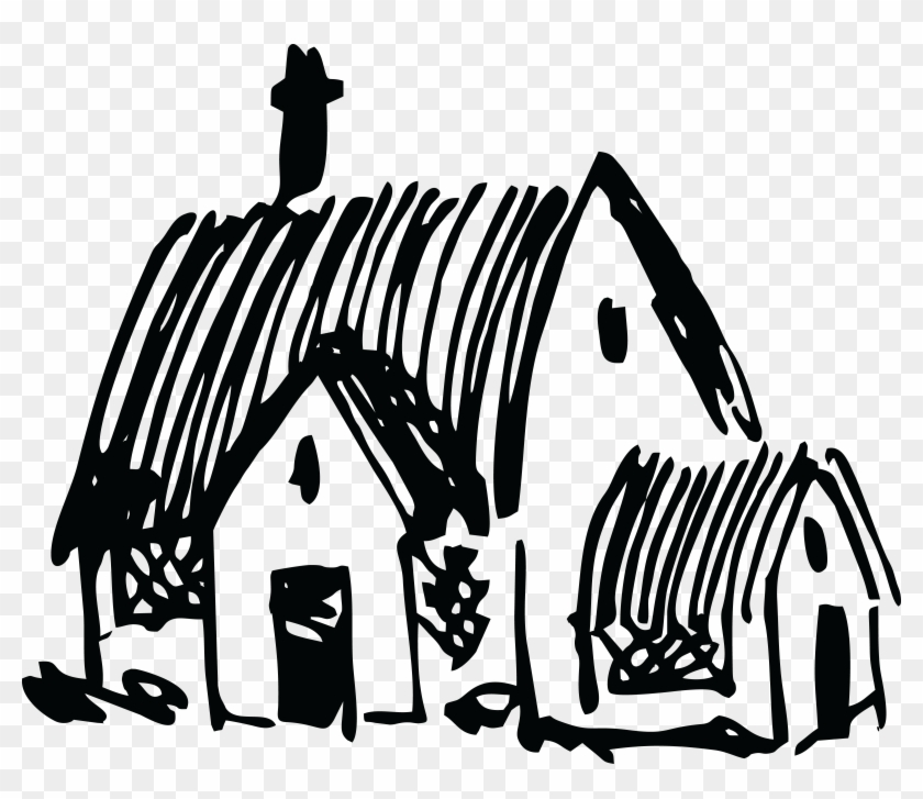 Free Clipart Of A Church Black White Art Png Transparent Png 4000x3276 1530034 Pngfind