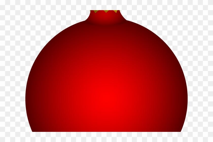 Christmas Bulb Png.Bulb Clipart Red Christmas Circle Hd Png Download