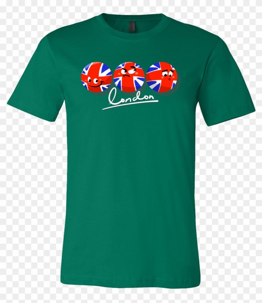1ff2292d Great Britain British Flag London Funny Emoji T Shirt - Toguro Shirt, HD  Png Download