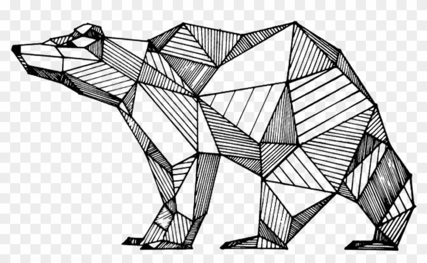 Geometric Drawings Animals Black And White Geometric