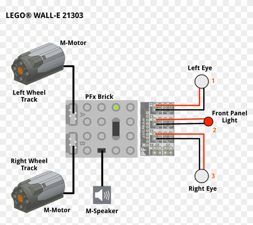 We Configured Wall - Lego Pfx Brick, HD Png Download