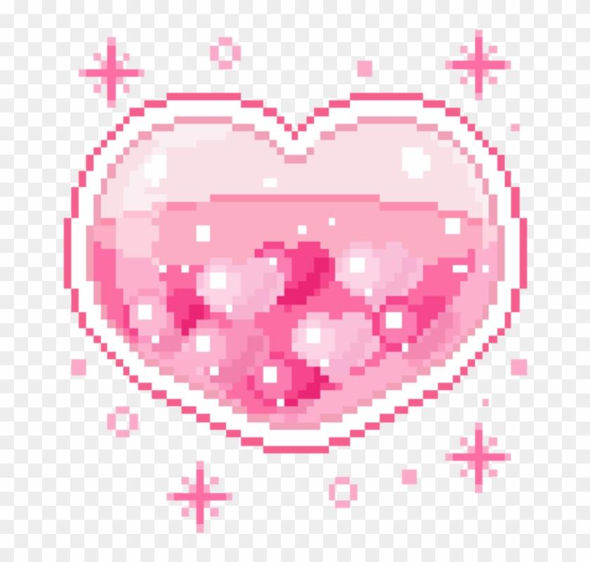 156 1565243 freetoedit cute kawaii pixel pastel heart transparent background