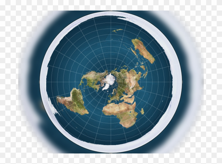 Flat Earth Map Hd Image   Trekky0623   Flat Earth World Map, HD Png Download