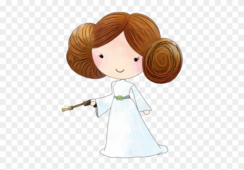 Star Wars Princess Leia Clipart Princesse Leia Dessin Star