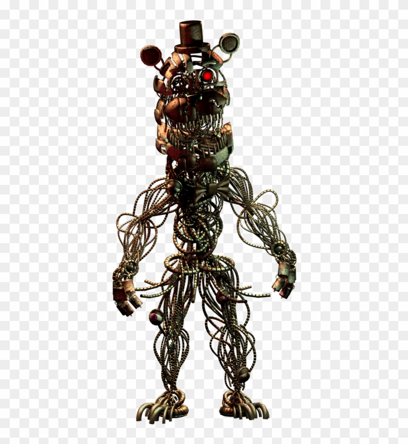 Concept Art For Twisted Freddy And Twisted Bonnie - Molten