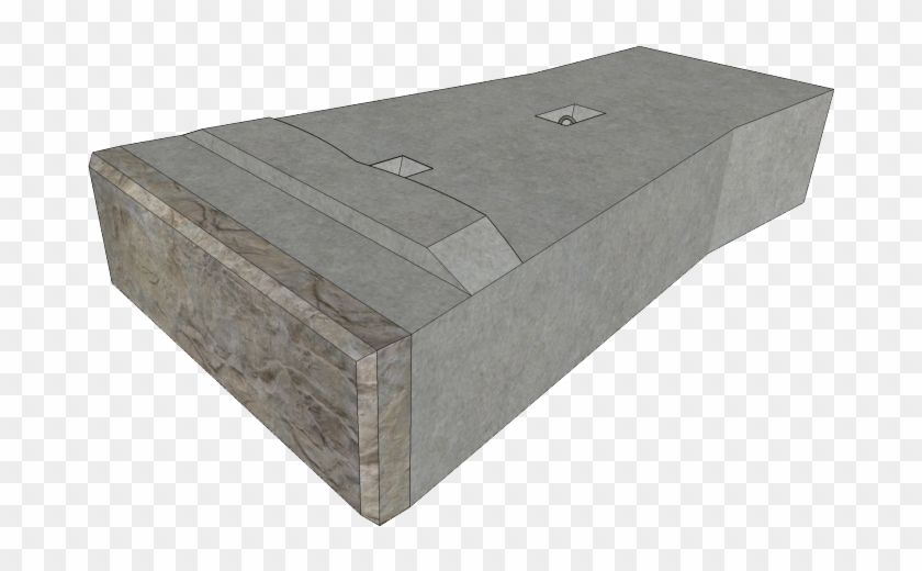 Image Of Recon Full Base Block - Retaining Wall, HD Png