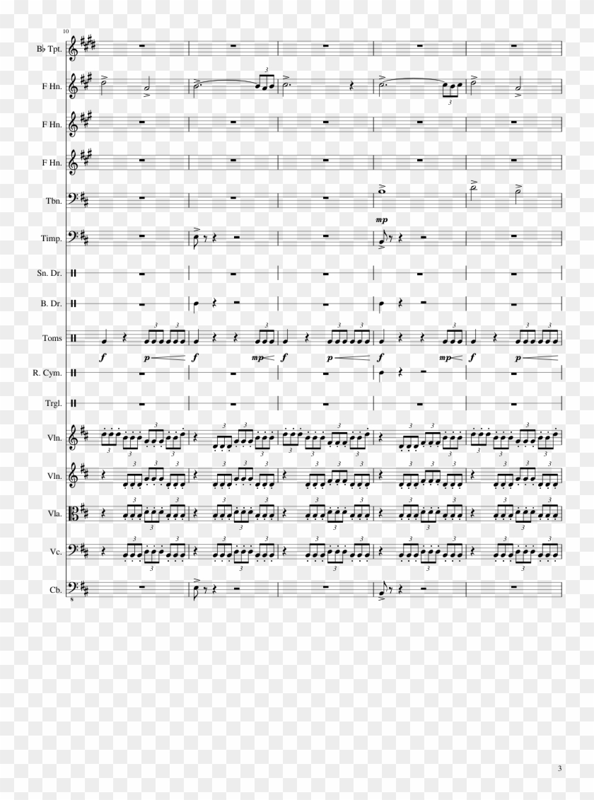 Age Of Ultron - Avengers Age Of Ultron Trumpet 3 Sheet Music