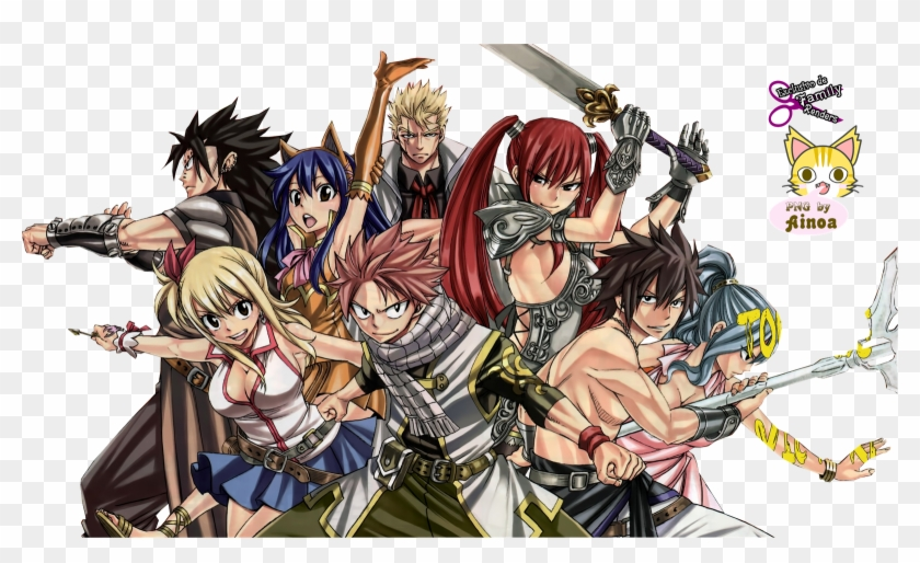 Fairy Tail De Fairy Tail By Hiro Mashima Hd Png Download